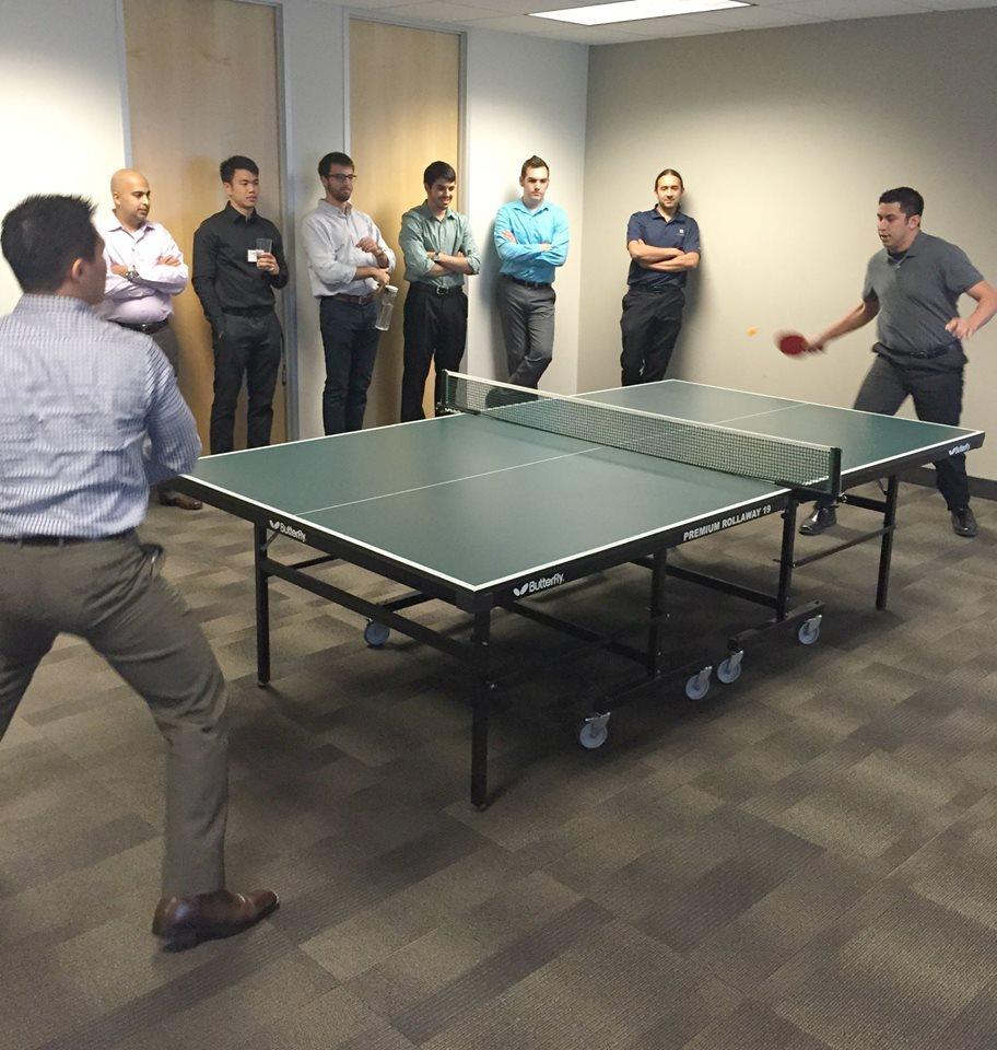 2016 Credera Ping Pong Tournament